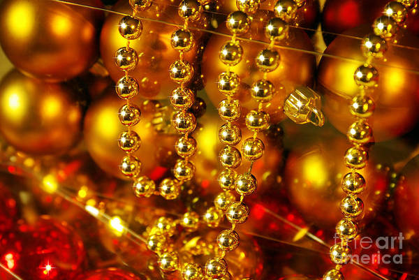 Bauble Wall Art - Photograph - Crhistmas Decorations by Carlos Caetano