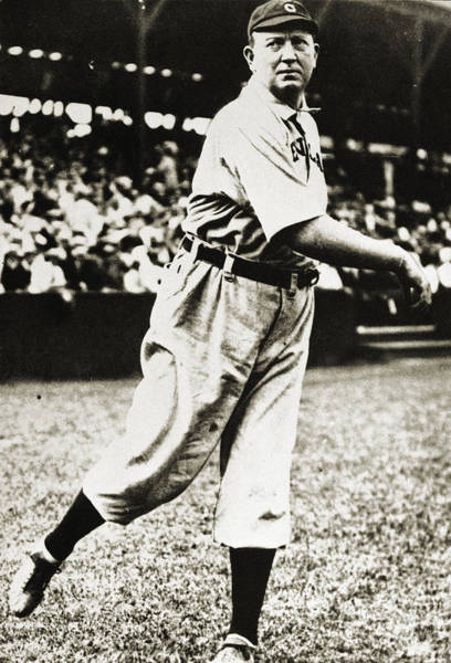 Photograph - Cy Young (1867-1955) by Granger