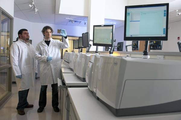 Gs Photograph - Dna Sequencers by Volker Steger
