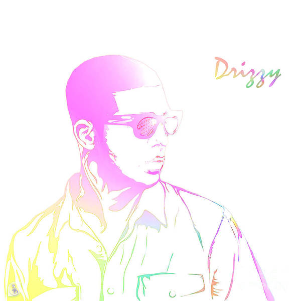 Ross Digital Art - Drizzy  by The DigArtisT