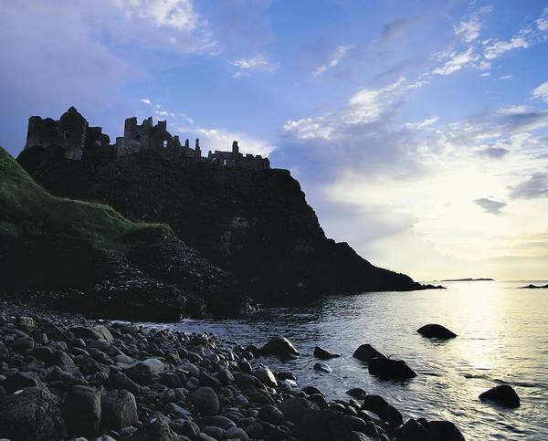 Horizontally Photograph - Dunluce Castle, Co Antrim, Ireland by The Irish Image Collection