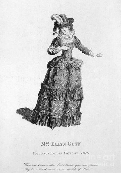 Mistress Photograph - Eleanor Gwyn (1650-1687) by Granger