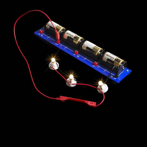 Battery D Photograph - Electrical Circuit by