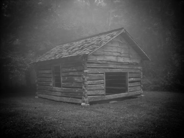 Photograph - Foggy Mountain Morning by Victoria Ashley