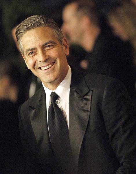 Jared Wall Art - Photograph - George Clooney At Arrivals For The by Everett