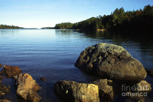 Photograph - Greenlaw Cove Deer Isle Maine by Thomas R Fletcher