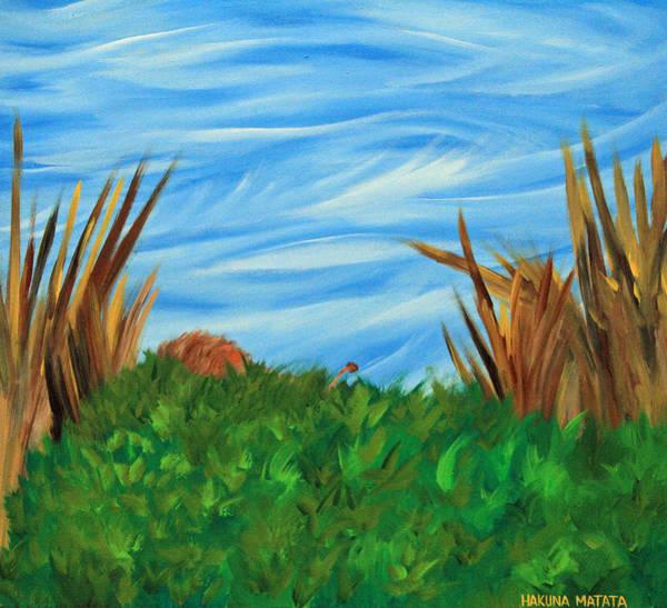 Painting - Hakuna Matata by Cyryn Fyrcyd