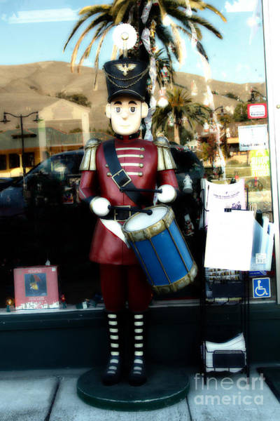 Photograph - Historic Niles District In California Near Fremont . Little Drumer Boy At The Vine . 7d10691 by Wingsdomain Art and Photography
