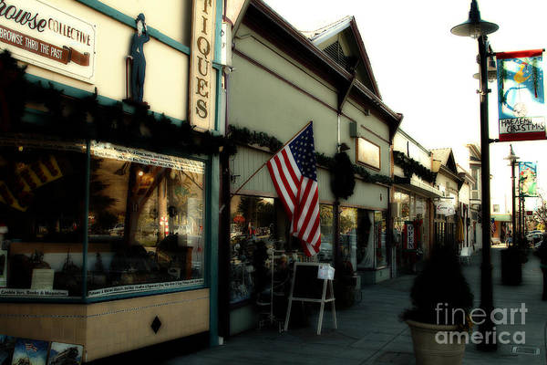 Photograph - Historic Niles District In California Near Fremont . Main Street . Niles Boulevard . 7d10701 by Wingsdomain Art and Photography