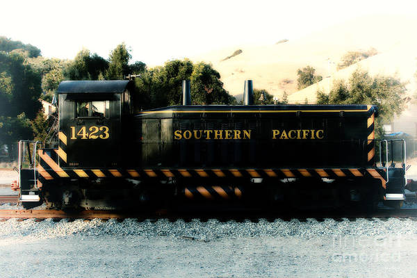 Photograph - Historic Niles Trains In California . Old Southern Pacific Locomotive . 7d10867 by Wingsdomain Art and Photography