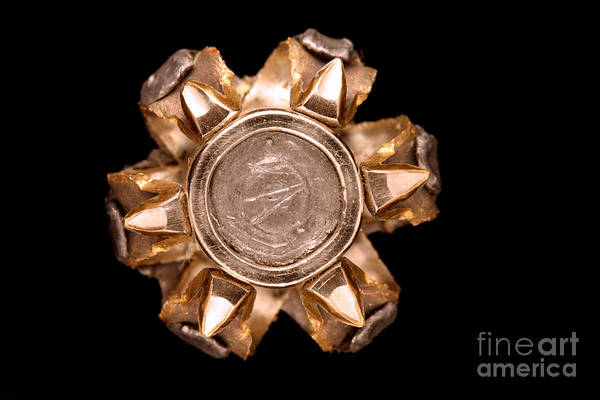 Wall Art - Photograph - Hollow Point Bullet by Ted Kinsman