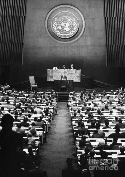 Delegation Photograph - John F. Kennedy by Granger