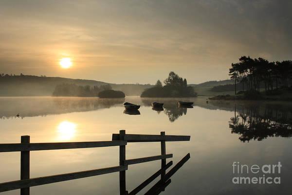 Knapps Loch Sunrise Art Print