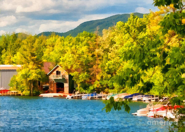Adirondack Mountains Painting - Lake George New York by Anne Kitzman