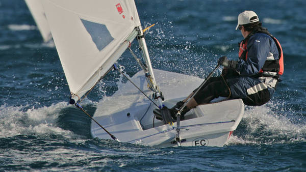 Photograph - Lake Tahoe Sailboat Racing by Steven Lapkin