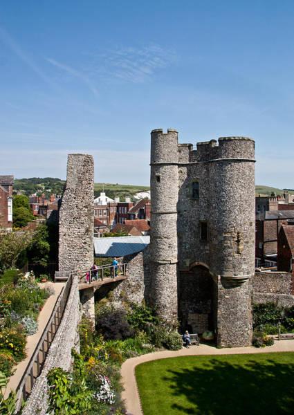 Lewes Photograph - Lewes Castle by Dawn OConnor