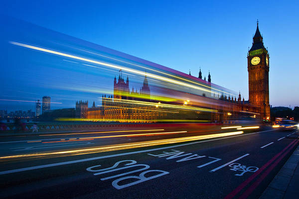 Wall Art - Photograph - London Big Ben by Nina Papiorek