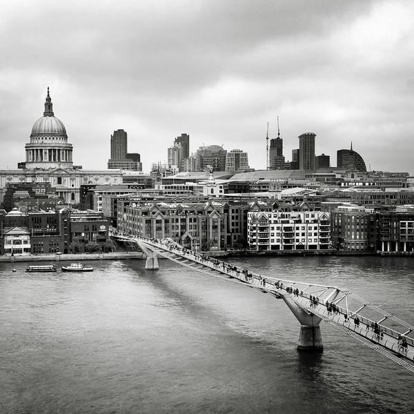 Millenium Photograph - London Millenium Bridge by Nina Papiorek