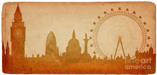 Tourism Wall Art - Digital Art - London Skyline by Michal Boubin