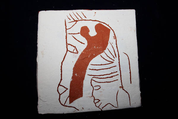 Ceramic Art - Looks - Tile by Gloria Ssali