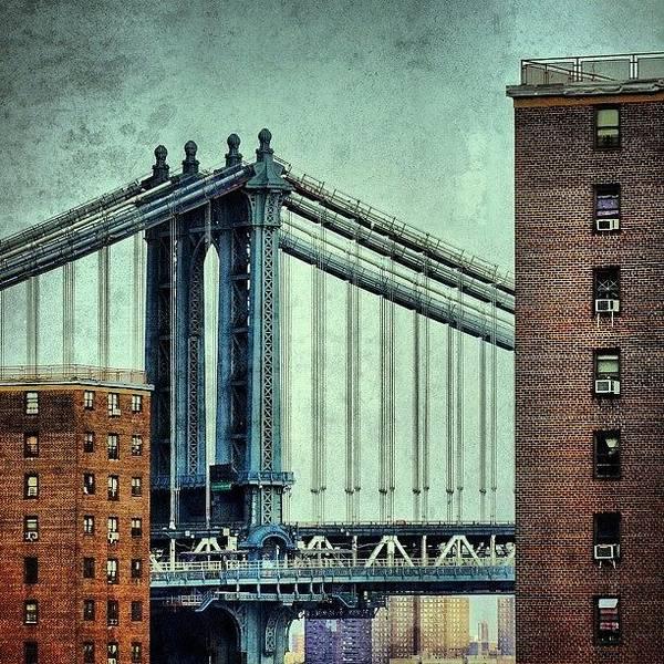 Wall Art - Photograph - Manhattan Bridge - New York by Joel Lopez