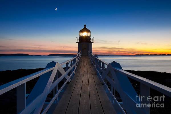 Wall Art - Photograph - Marshall Point Light by Brian Jannsen