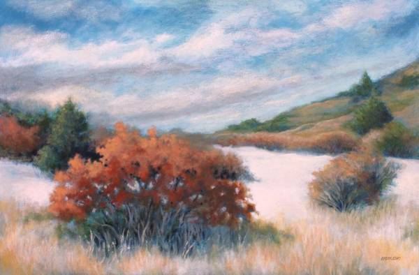 Meandering Near Prescott Art Print