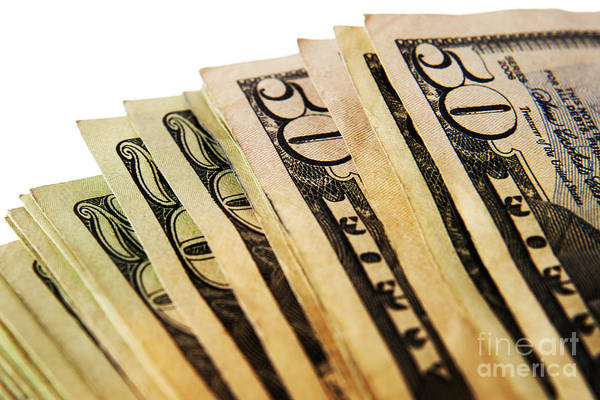 Wall Art - Photograph - Money by Blink Images