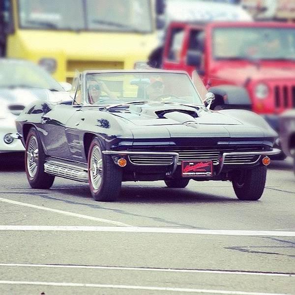 Chevrolet Corvette Photograph - 2 More Days Till The #woodward by Junior  Scholars