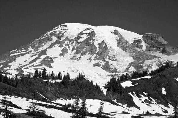 Photograph - Mount Rainier by David Patterson