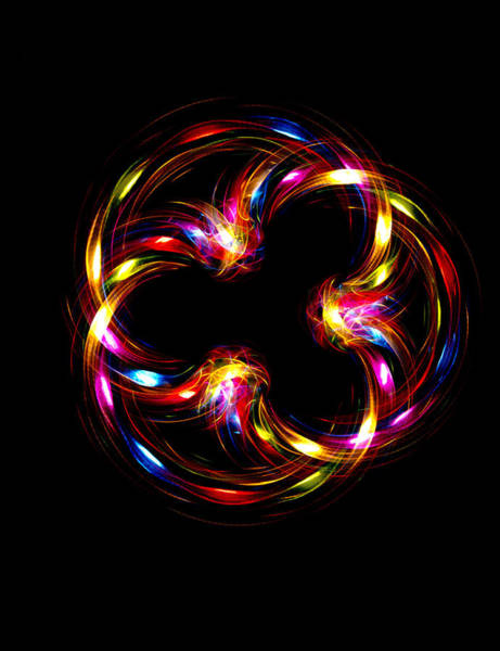 Sfx Photograph - Multicoloured Lights by Lawrence Lawry