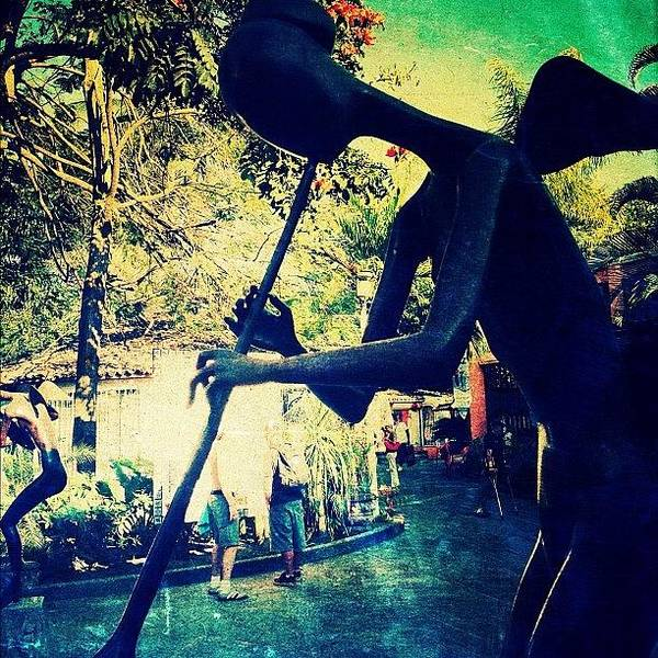 Celebrity Wall Art - Photograph - Musician Sculpture (puerto Vallarta) by Natasha Marco