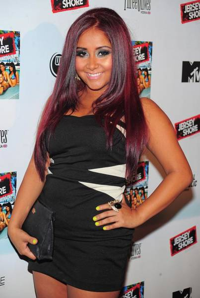 Wall Art - Photograph - Nicole Snooki Polizzi At Arrivals by Everett