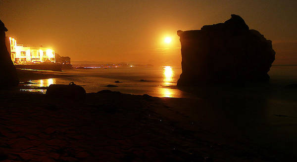 Matador Photograph - Night Moon by Ron Regalado