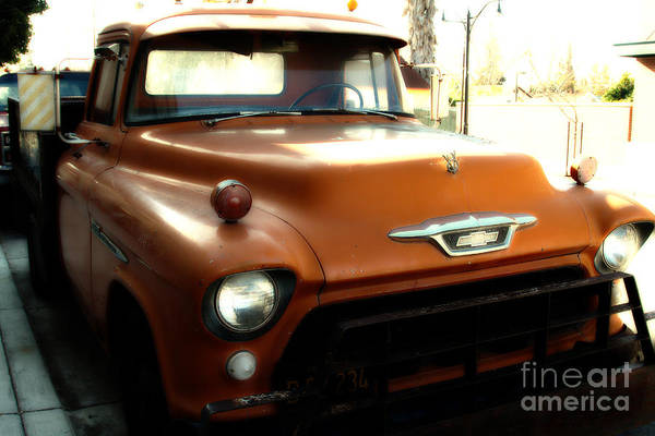 Photograph - Old American Chevy Chevrolet Truck . 7d10669 by Wingsdomain Art and Photography