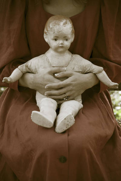 Doll Parts Photograph - Old Doll by Joana Kruse