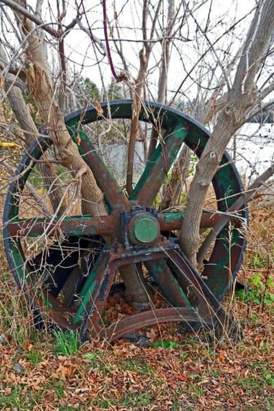Photograph - Old Mill Relics by Cyryn Fyrcyd