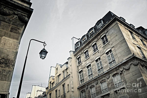 Architectural Details Photograph - Paris Street by Elena Elisseeva