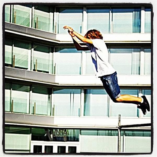 Workout Wall Art - Photograph - Parkour O Marisquiño 2011 #parkour by Hugo Sa Ferreira