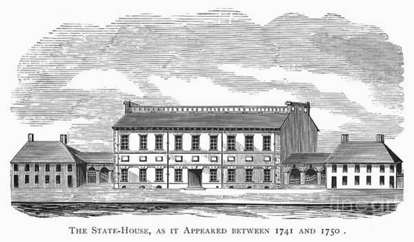 1741 Photograph - Philadelphia State House by Granger