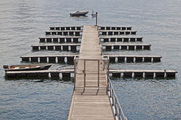 Lake Maggiore Photograph - Pier by Joana Kruse