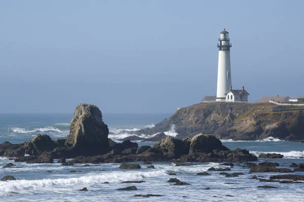 Photograph - Pigeon Point Lighthouse by Mike Irwin