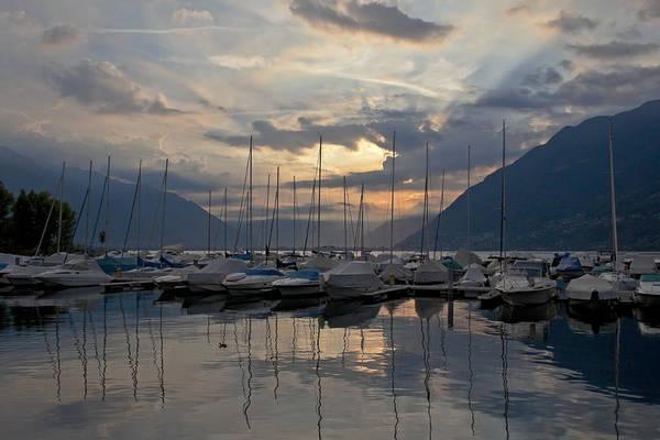 Lake Maggiore Photograph - Porto Patriziale Ascona by Joana Kruse