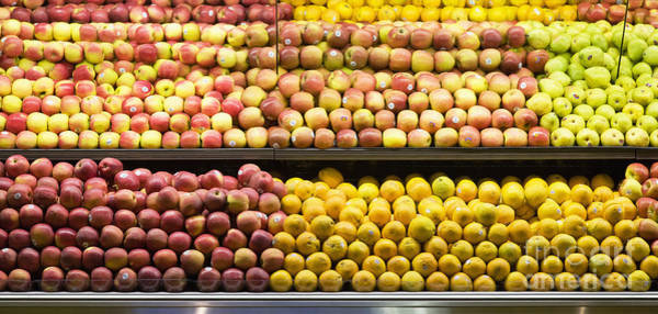 Redmond Photograph - Produce Aisle by Andersen Ross