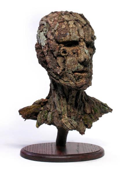 Wall Art -  - Revered A Natural Portrait Bust Sculpture By Adam Long by Adam Long