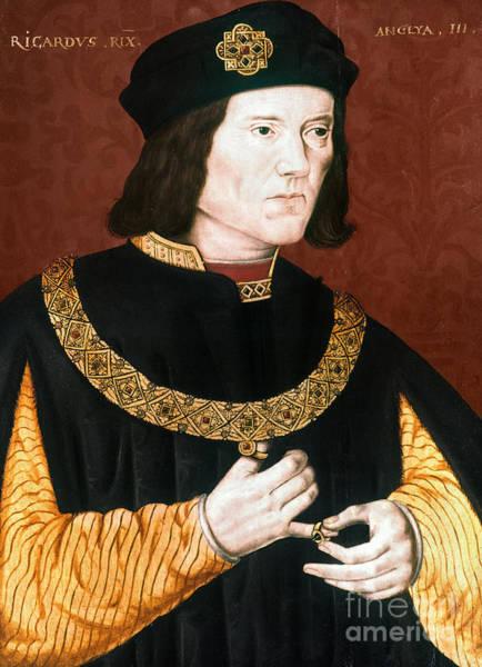 Photograph - Richard IIi (1452-1485) by Granger