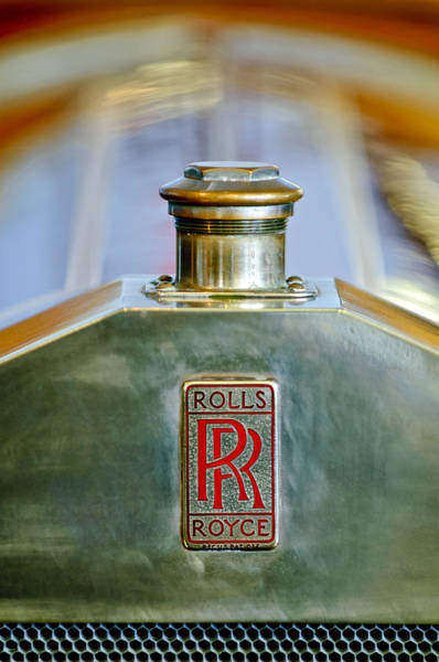Photograph - Rolls-royce Hood Ornament by Jill Reger