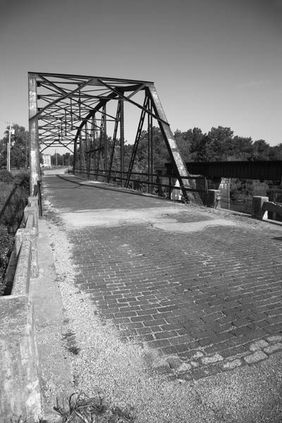 Photograph - Route 66 - One Lane Bridge by Frank Romeo