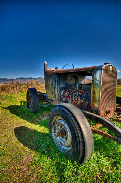 Waterbury Photograph - Rusted Hotrod by Mike Horvath