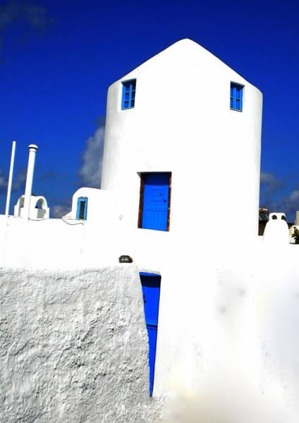 Photograph - Santorini Beauty Greece  by Colette V Hera  Guggenheim